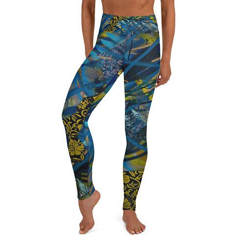 Blue Dream Yoga Leggings (Women's Sizes)