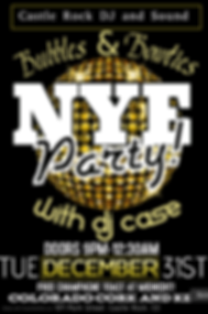 New Years Eve Party with Castle Rock DJ