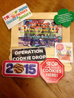 cookie booth promo