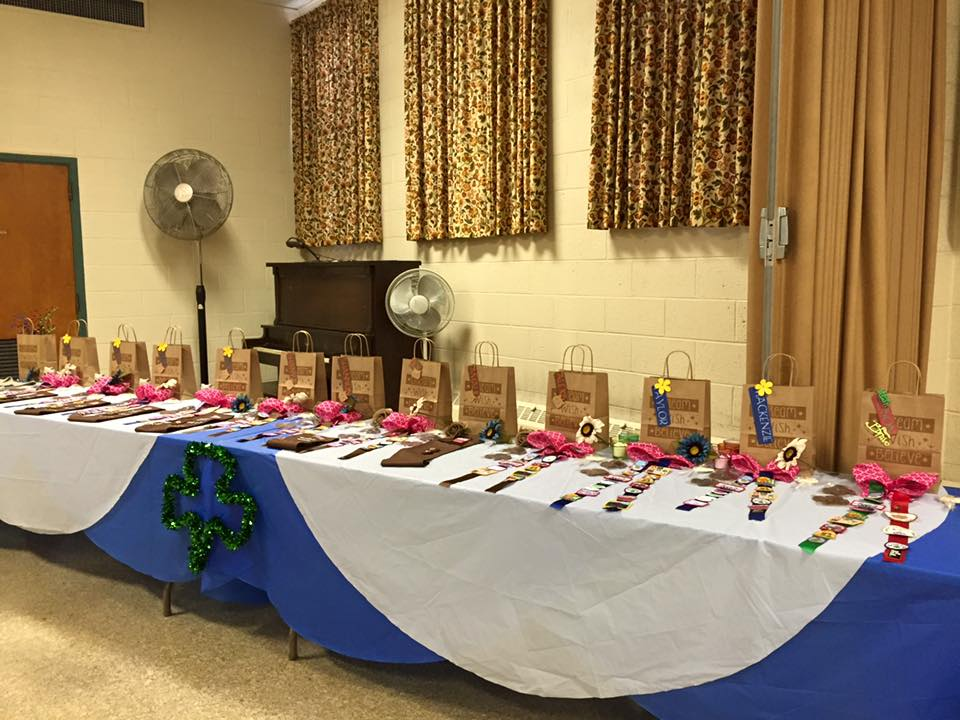 2015 Briding Ceremony Awards Table