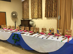 2015 Briding Ceremony Awards Table
