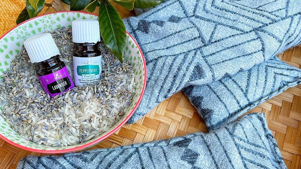 Aromatherapy Neck and Eye Pillow Set