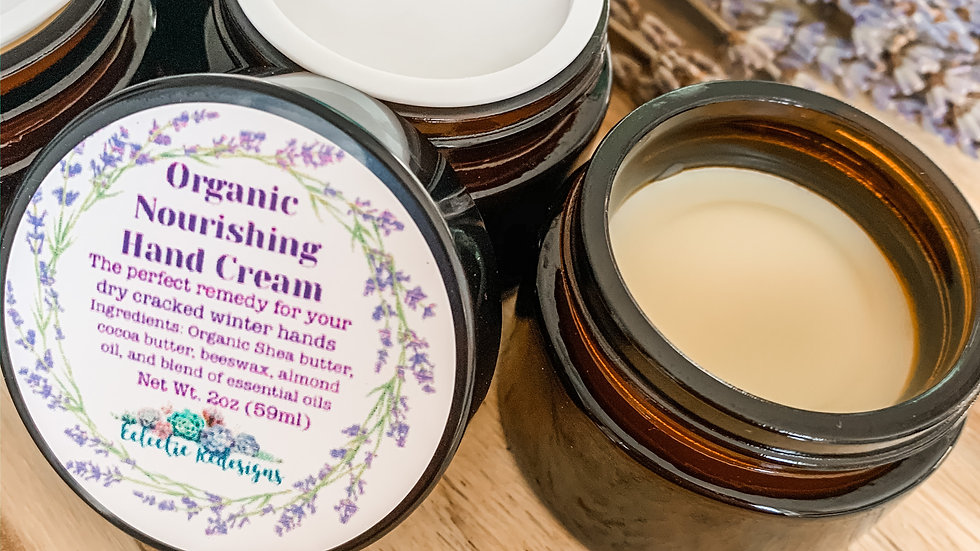 All Natural Winter Hand Cream