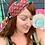 Thumbnail: Boho Hobo Chic Patchwork Kantha Turbans Headbands Headwraps Hippie Gypsy