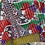 Thumbnail: Handcrafted Kantha Patchwork 5x7 Throw Blankets
