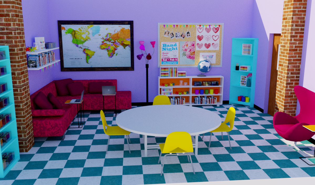 Multipurpose Room rendering