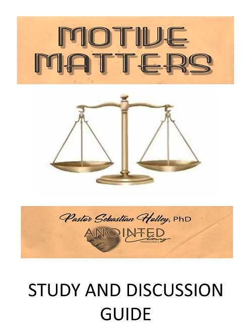Motive Matters Discussion Guide