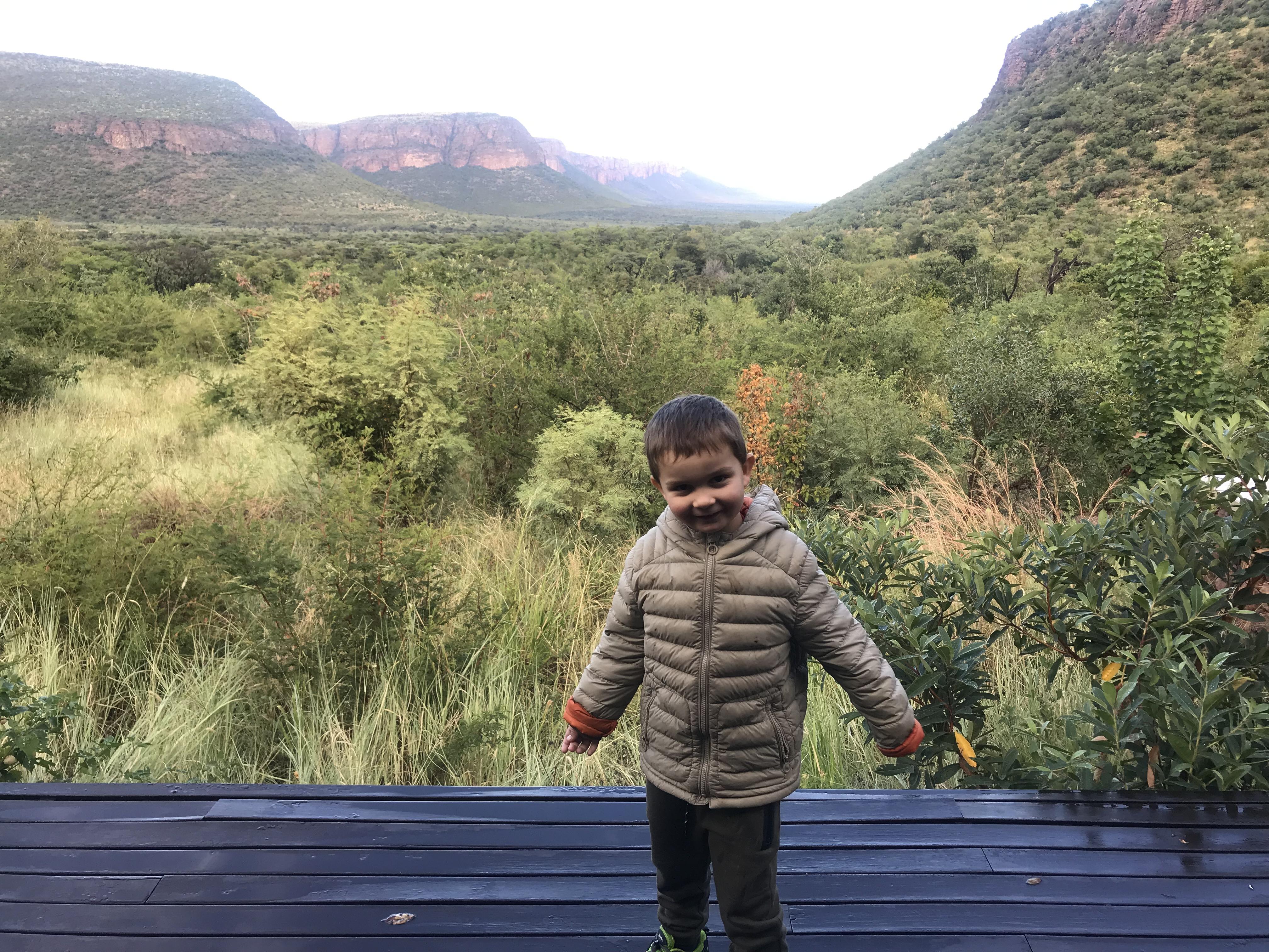 Sarfari mit Kind - Marataba