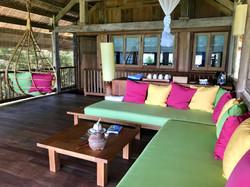 Terrasse der Family Beach Villa