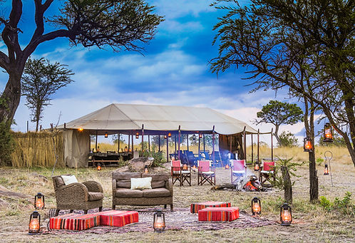Familien Luxusreise ins Serengeti Mobile Camp