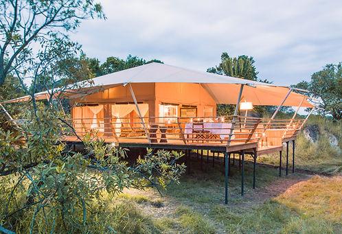 Familien Luxusreise ins Serengeti Bushtops Camp