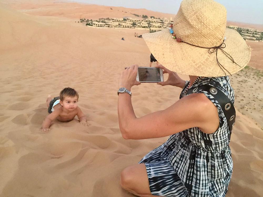 Fotoshooting in den Dünen