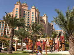 Spielplatz vor dem Atlantis