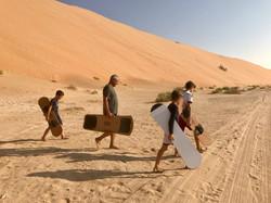 Sandboarden