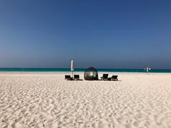 Malediven-Feeling in Abu Dhabi