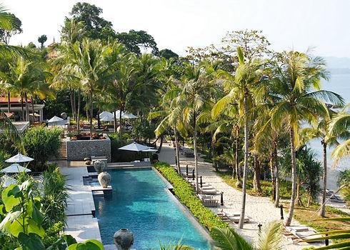 Familien Luxusreise ins Trisara Phuket
