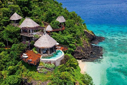 Familienluxusreise auf Laucala Island Fiji
