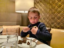 Dinner im Waldorf Astoria Bejing