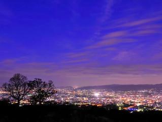奈良若草山夜景