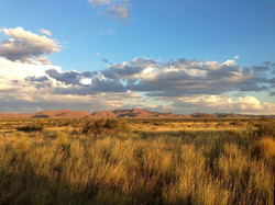 Wunderschöne Kalahari Wüste