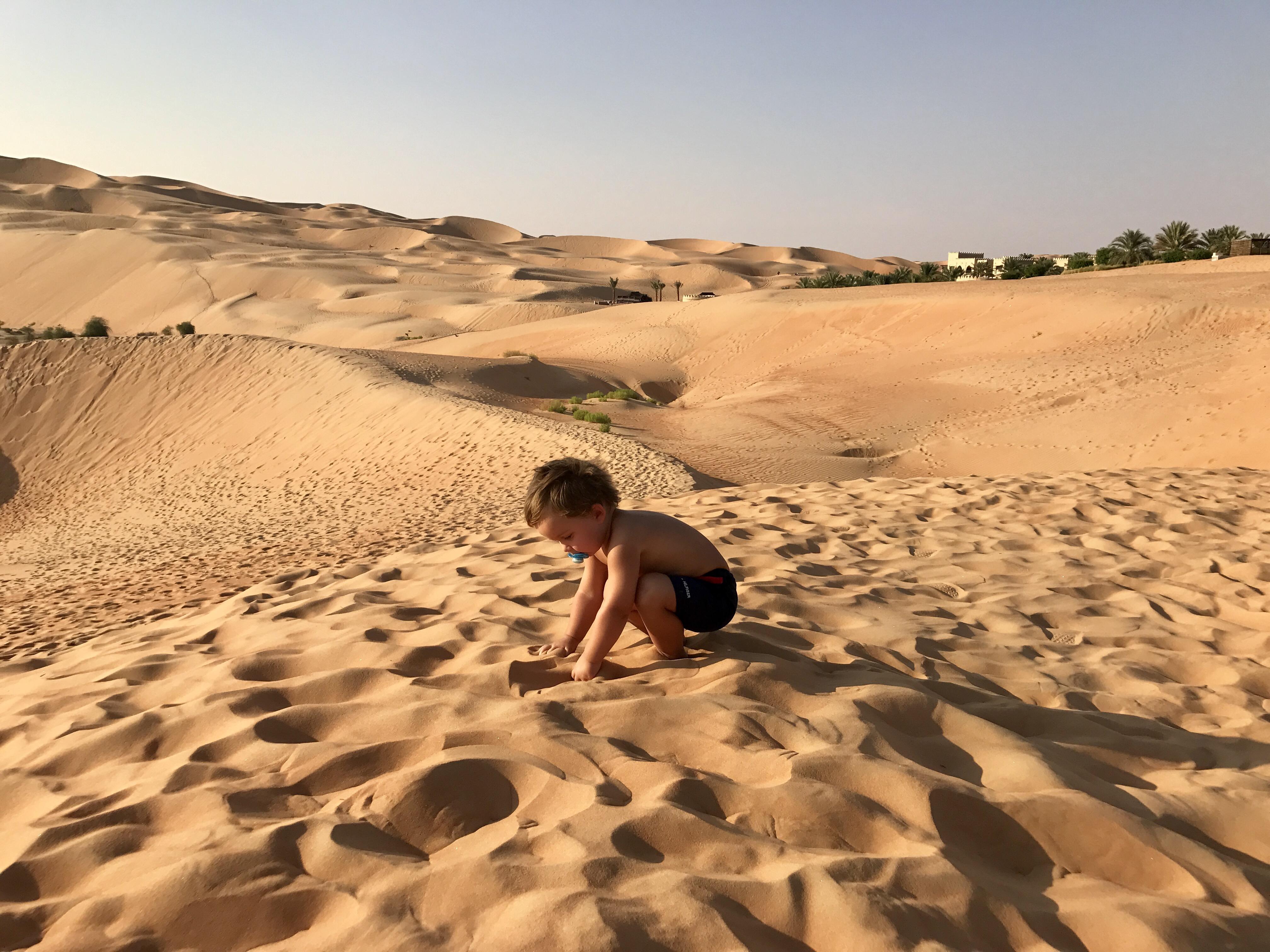 Riesiger Sandspielplatz