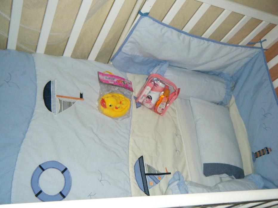 Babybett in den Maradiva Villen