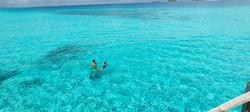 Baden im indischen Ozean