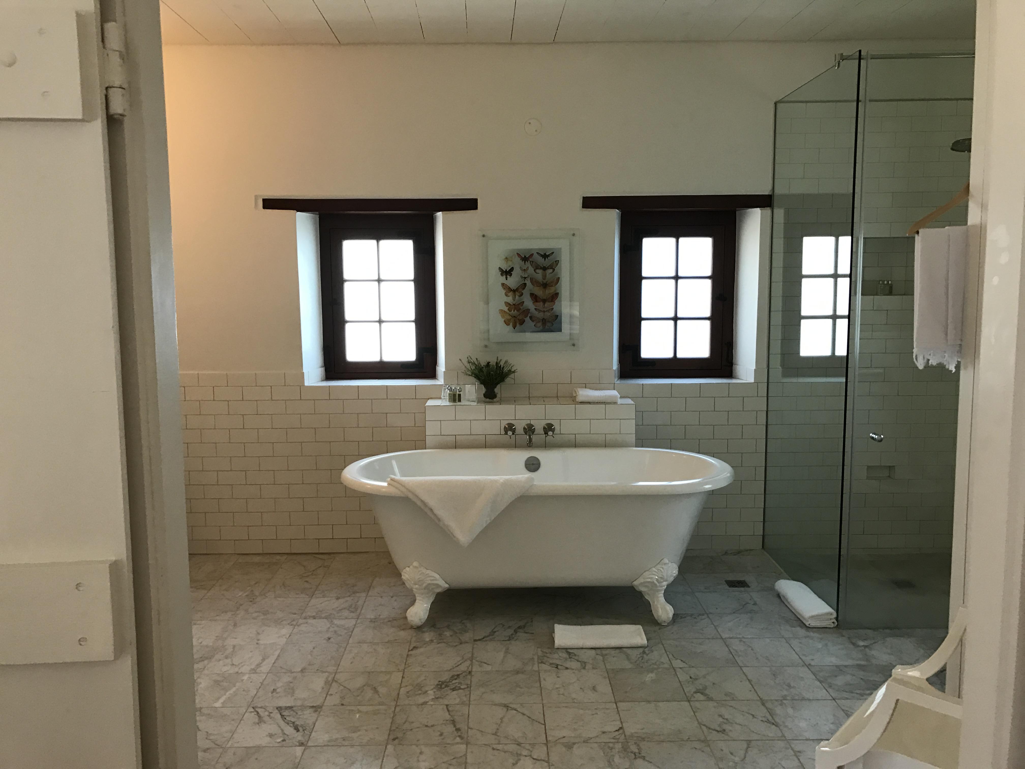 Badezimmer im Cottage