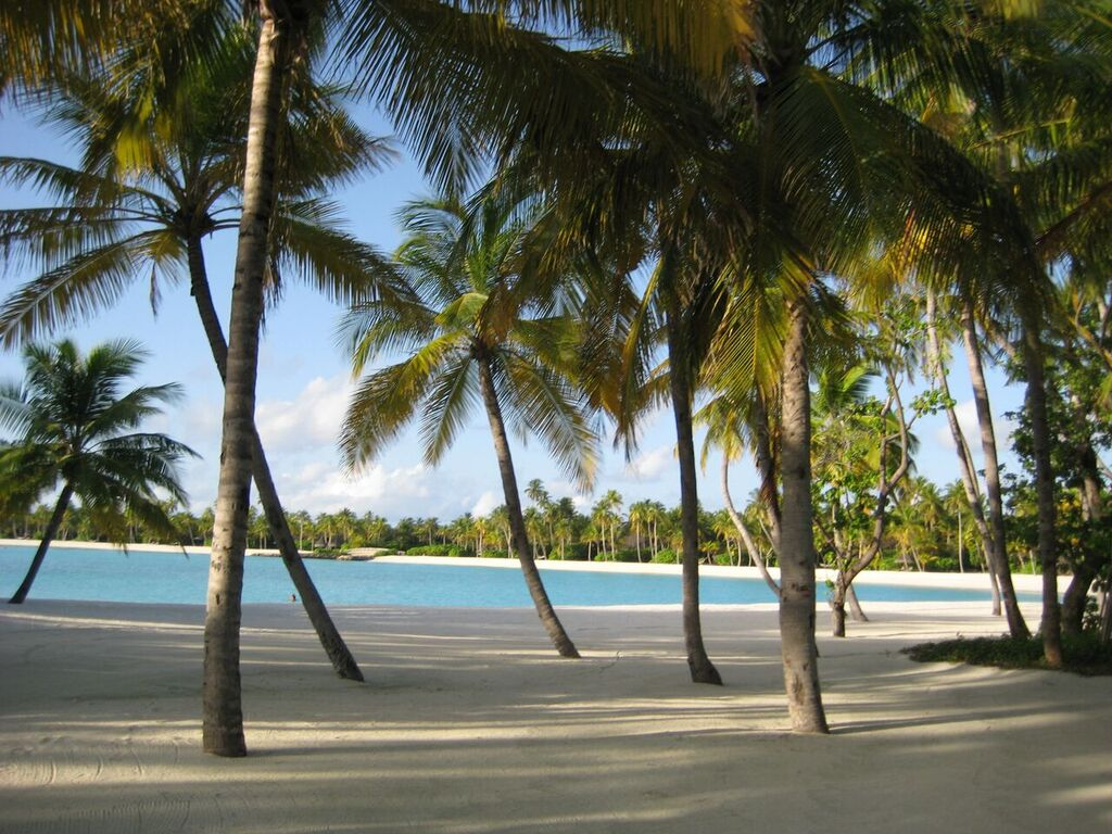 Privater Strandabschnitt