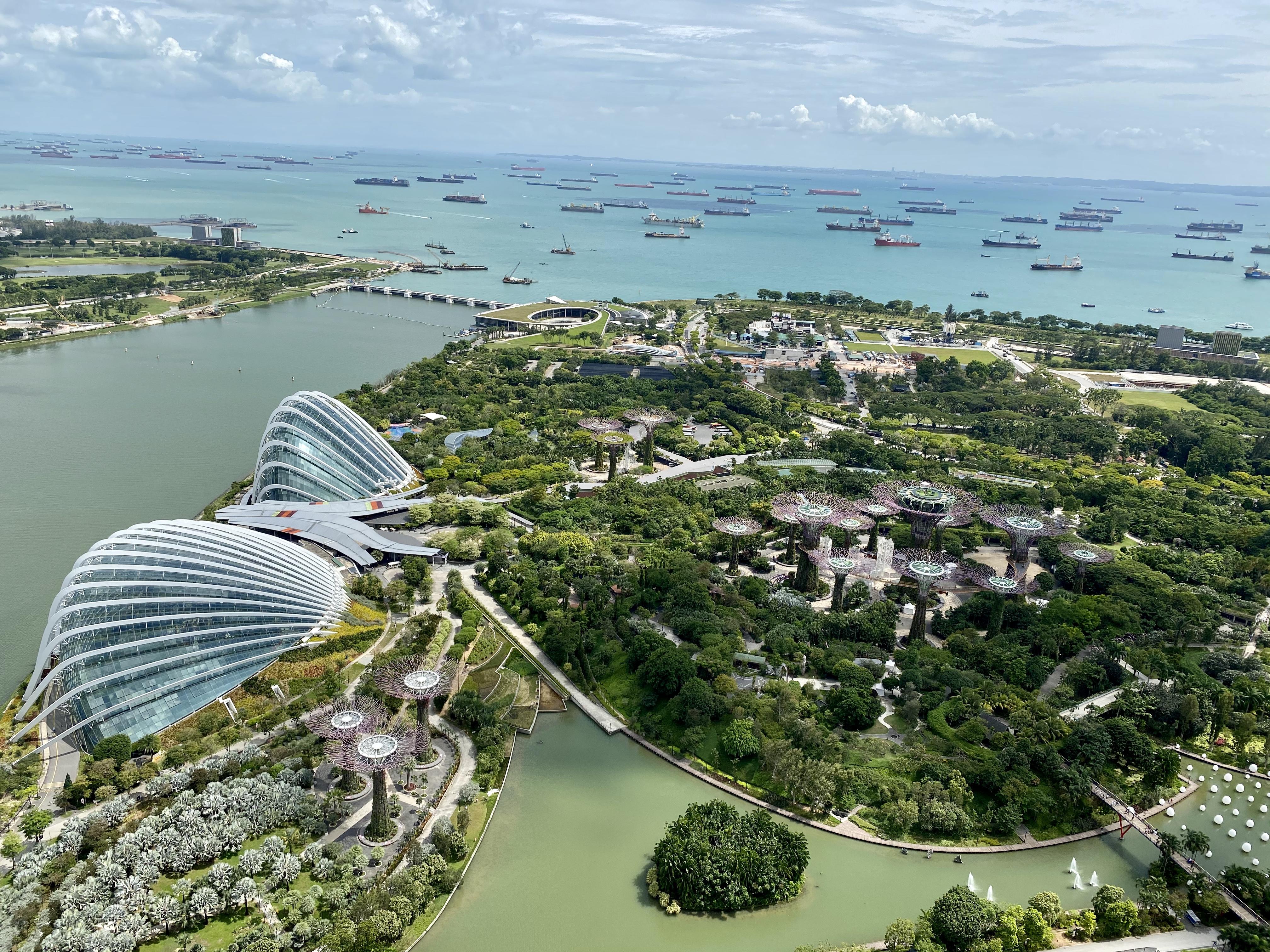 Aussichtsplattform Marina Bay Sands