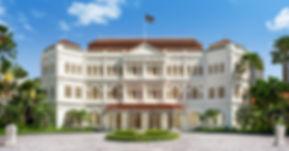 Familienluxusreise ins Raffles Hotel