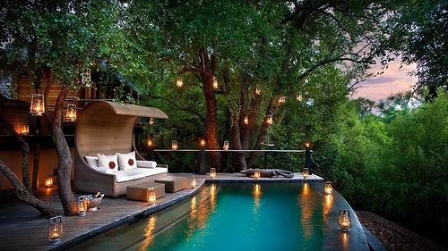 Familien Luxusreise in die Morokuru Safari Lodge