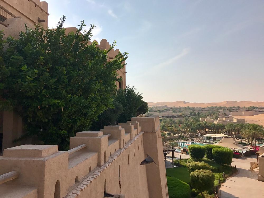 Unser Märchenschloss - Qasr al Sarab Desert Resort