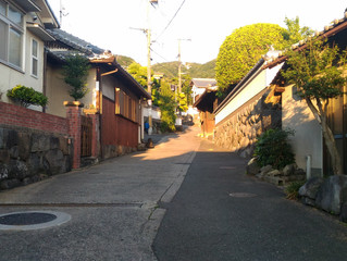 圓滿民宿前的登山步道
