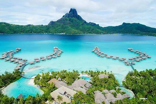Familienluxusreise ins InterContinental Bora Bora Resort