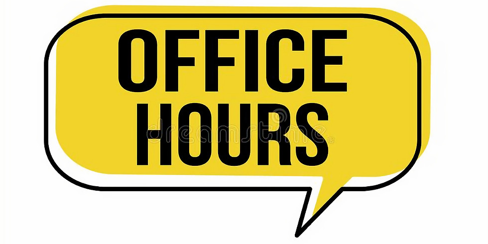 West Portland UMC PHYSICAL Office Hours