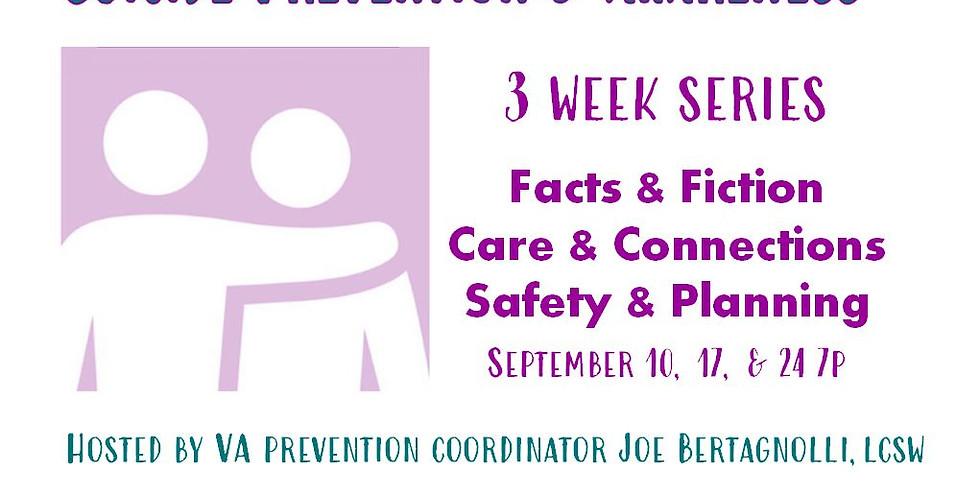 Sucide Awareness & Prevention Webinar