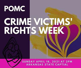 POMC Crime Victims Rights Week Sunday Ap