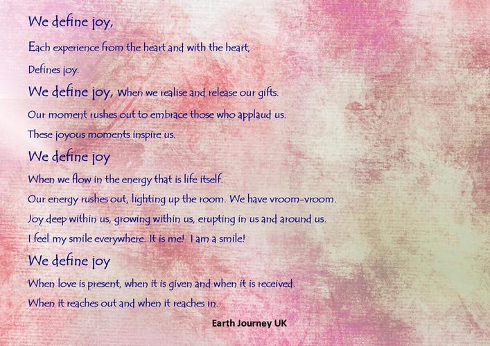 We Define Joy
