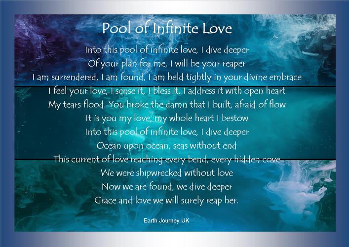 Pool of infinite love