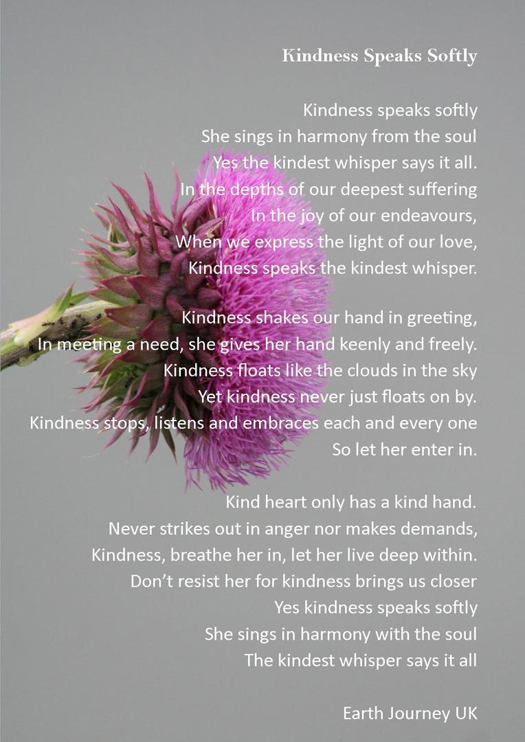 KIndness Speaks Softly