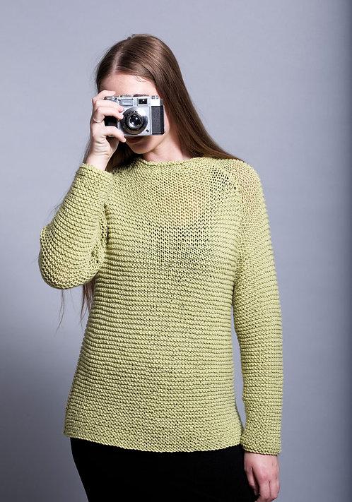 366 Stacey Raglan Sweater - digital download