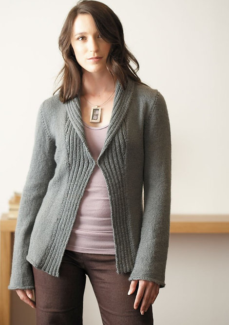 019 Shawl Collar Cardigan and Coat  - digital download