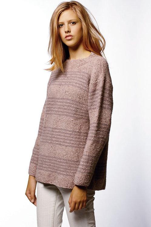 005 Moss Stitch Sweater  - digital download