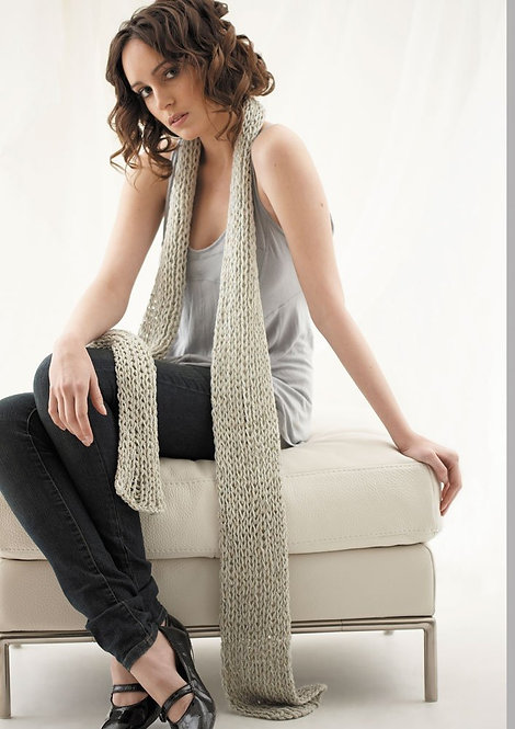 026 Ribbed Scarf  - digital download