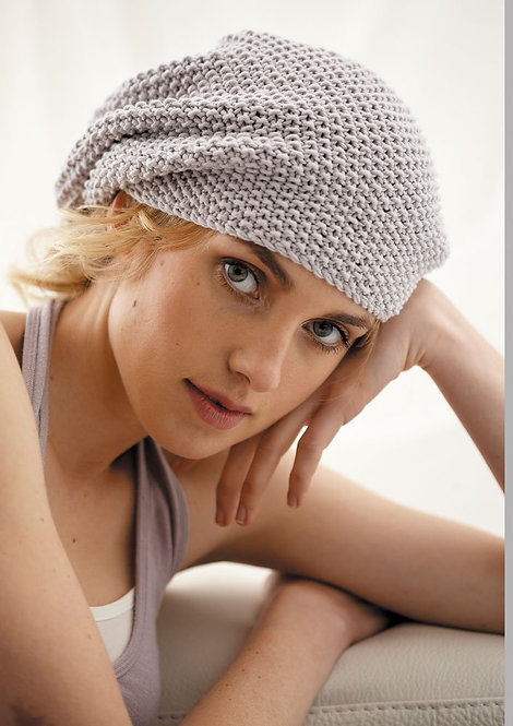 032 Lace Hat and Large Beanie  - digital download