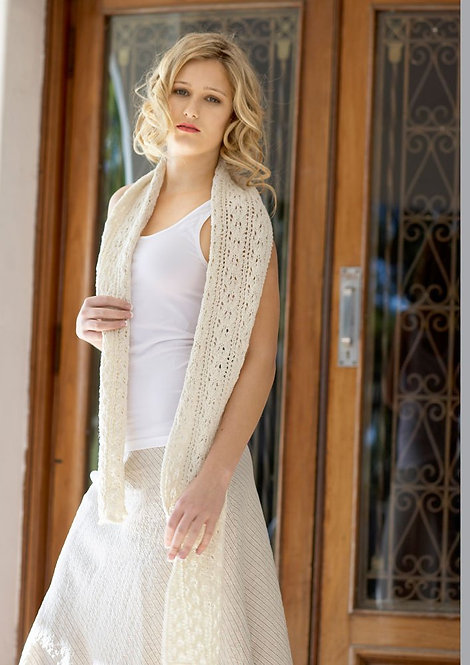 082 Lacey Scarf - digital download