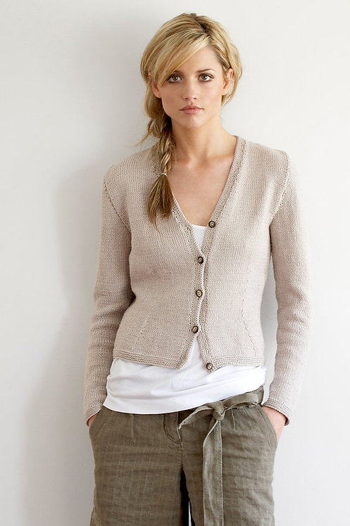 031 Fitted Cardigan  - digital download
