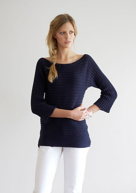 063 Sideways Ribbed Top - digital download