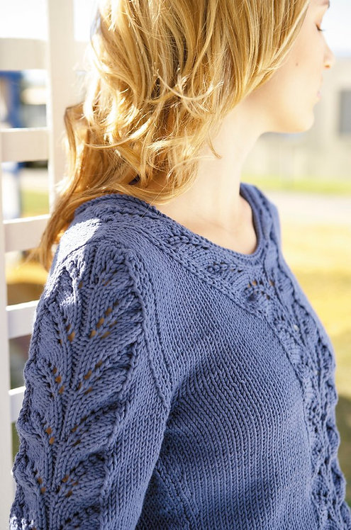 115 Lace Panel Sweater - digital download
